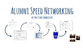 Alumni Speed Networking