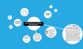 Copy of EDUCACIÓN EN LA ÉPOCA KIRCHNERISTA