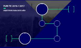 PLAN TIC 2016 / 2017