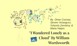 """Copy of """"I Wandered Lonely as a Cloud"""""""