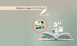 The Western Union I P.L.E.D.G.E. programme in support