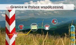 Granice w Polsce współczesnej