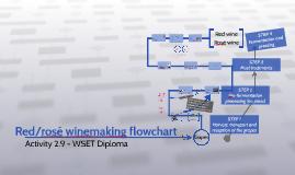 Red/rosé winemaking flowchart