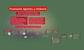 Frustración, Agresión, y Violencia