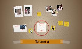 Te amo :)
