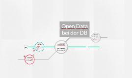 Open Data bei der DB