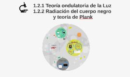 1.2.1 Teoría ondulatoria de la Luz