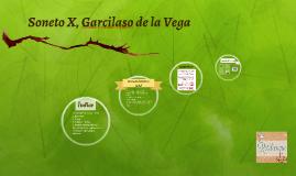 Soneto X, Garcilaso de la Vega
