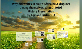 White People in Africa (year 1880 to 1910)