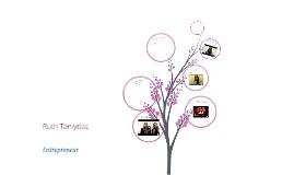 Ruth Tarvydas - Entrepreneurship Presentation