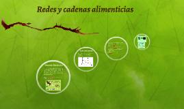 Redes  y Cadenas Tróficas