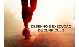 DESENHO E EXECUÇÃO DE CURRÍCULO