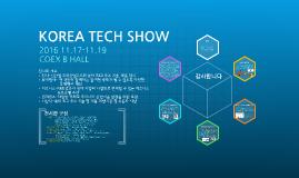 KOREA TECH SHOW