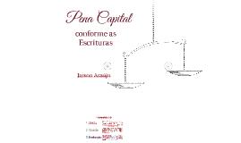 Pena Capital conforme a Bíblia