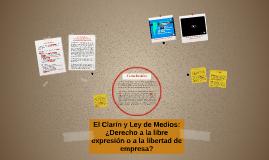 El Clarín y Ley de Medios: