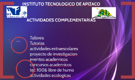 INSTITUTO TECNOLOGICO DE APIZACO