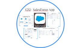 GXi:  SalesForce App
