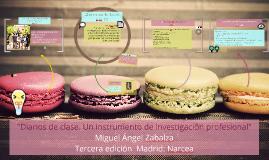 "Copy of ""Diarios de clase. Un instrumento de investigación profesion"