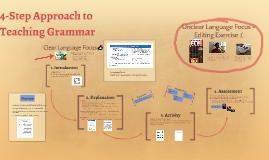 4-Step Approach to Teaching Grammar