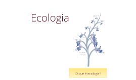 Ecologia apresentação