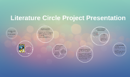 Literature Circle Project Presentation