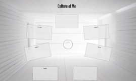 Culture of Me