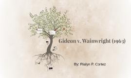 Gideon v. Wainwright (1963)