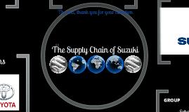 pak suzuki Supply Chain