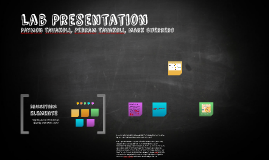Bio 107 Lab Presentation