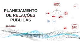 PLANEJAMENTO DE RELAÇÕES PÚBLICAS