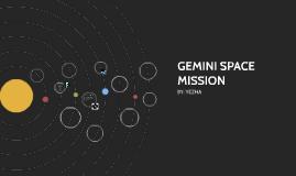 GEMINI SPACE MISSION