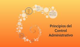 Copy of Principios del Control Administrativo