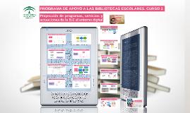 Proyección de programas, servicios y actuaciones de la B.E al entorno digital