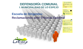 DEFENSORÍA COMUNAL