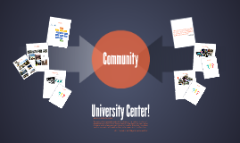 UCAE: University Center = Community