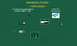 CONVERTER SYSTEM I
