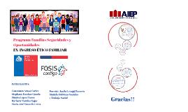 Copy of PROGRAMA FAMILIA SEGURIDADES I OPORTUNIDADES