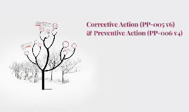 Corrective Action (PP-005 v6)