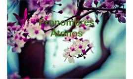 Copy of PRONOMBRES