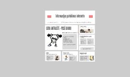 Informacijos pateikimas internete: formos ir būdai