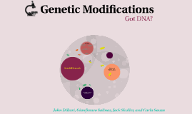 Genetic Modifications