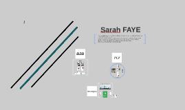 sarah FAYE