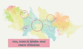 IFMA, curso de español como lengua extranjera