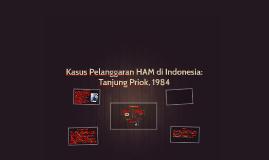 Kasus Pelanggaran HAM di Indonesia: Tanjung Priok, 1984