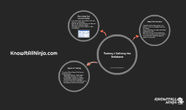 Testing & Refining the Database