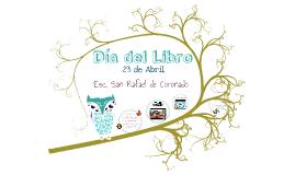 Día del Libro I Ciclo Esc.SR