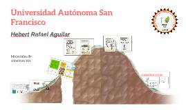 Copy of EL ADOBE COMO MATERIAL DE CONSTRUCCIÓN