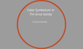 great gatsby colour symbolism essay