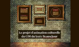 le projet culturel du cdi