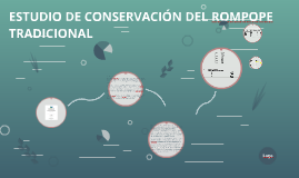 ESTUDIO DE CONSERVACIÓN DEL ROMPOPE TRADICIONAL